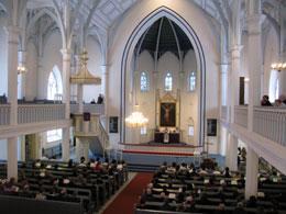 Asikkalan kirkko sisältä